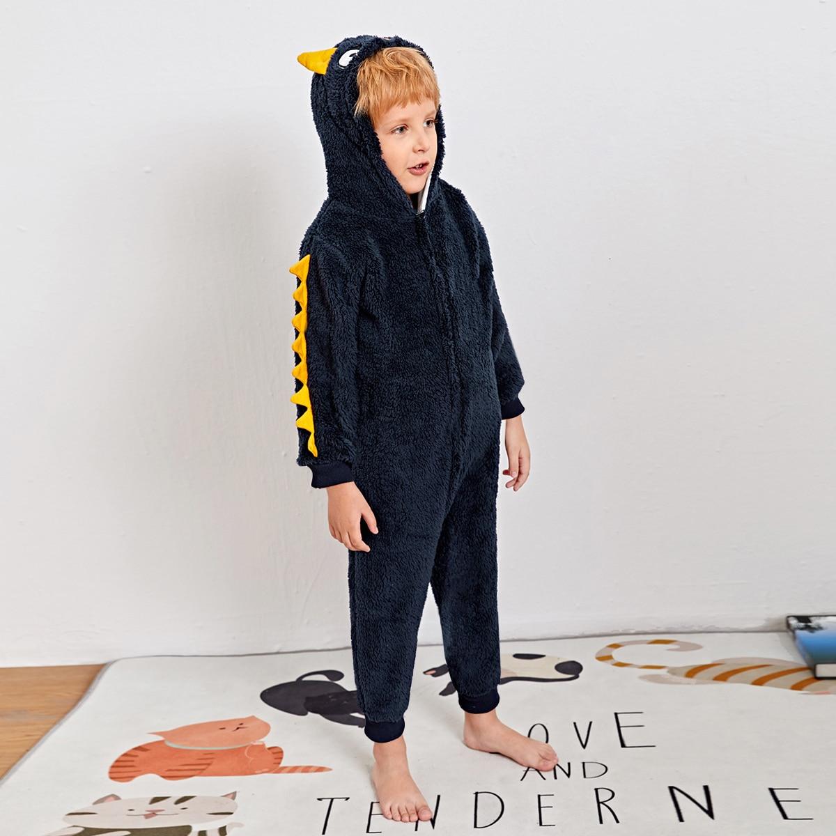 Аппликация Мультяшный принт милый Домашняя одежда для мальчиков