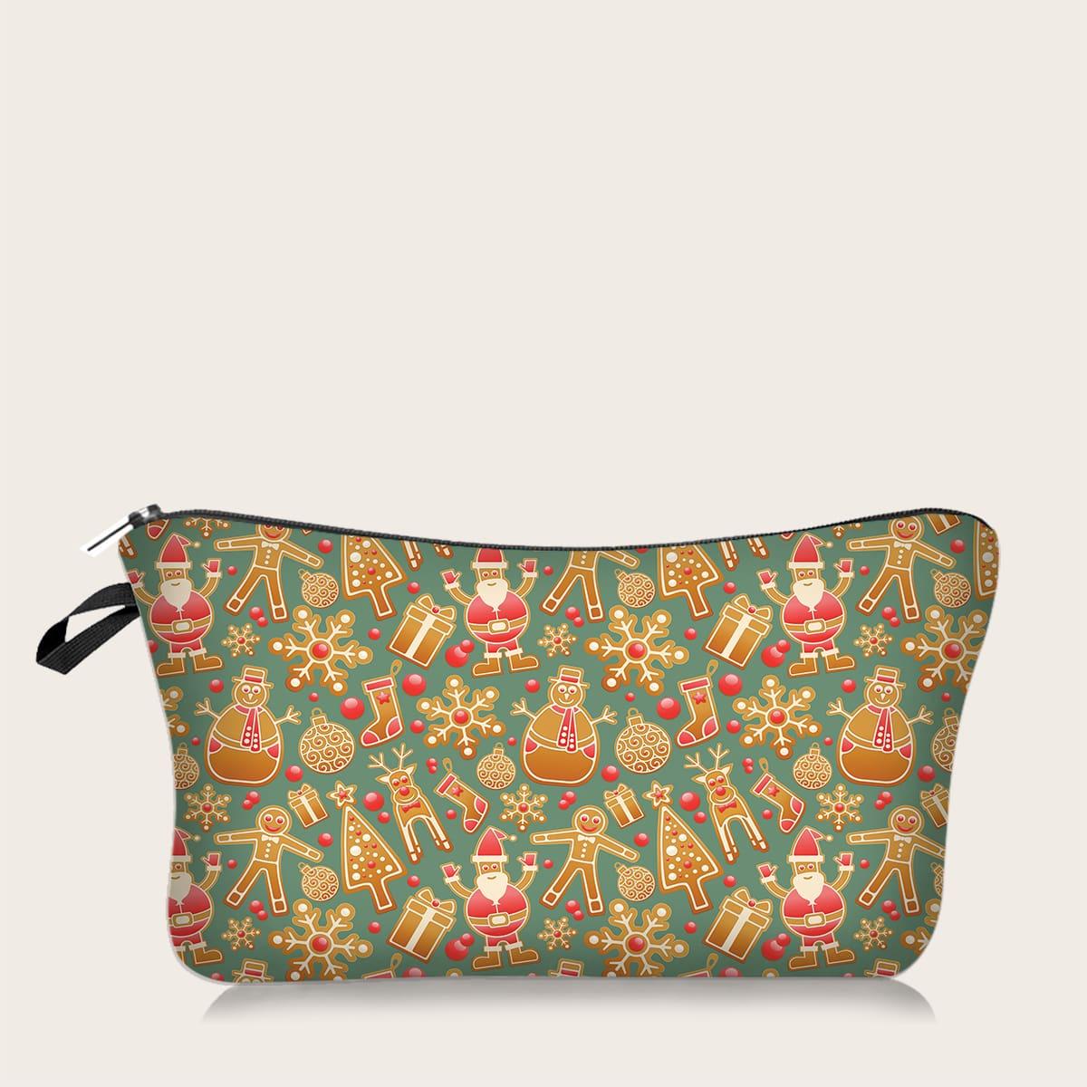 Косметическая сумка с узором