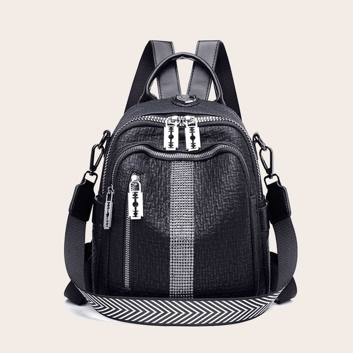 Рюкзак со съемным ремнем