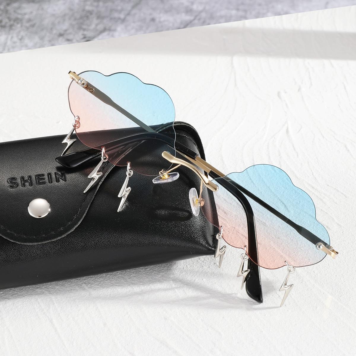 Мужские солнцезащитные очки в форме облака