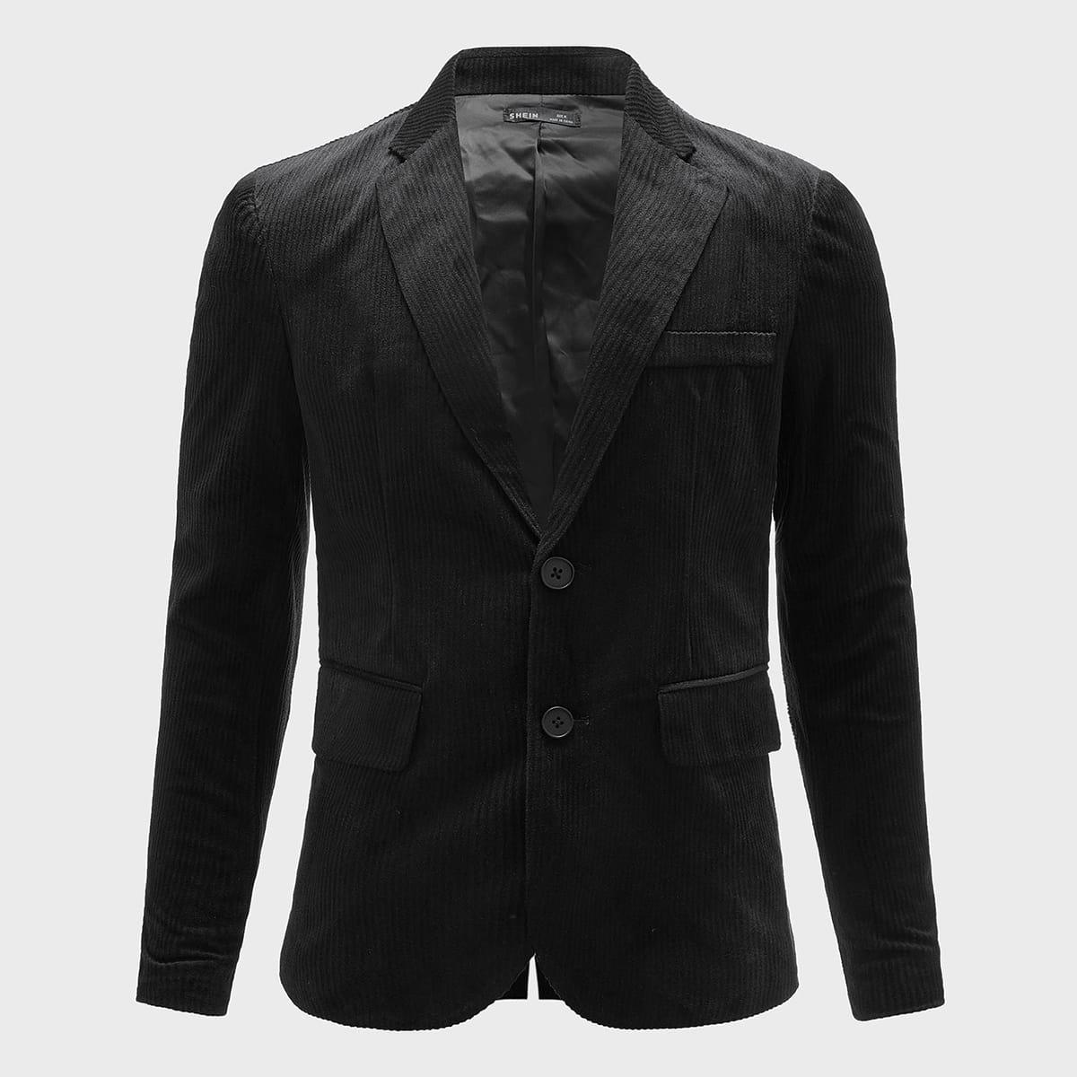 Мужской вельветовый пиджак