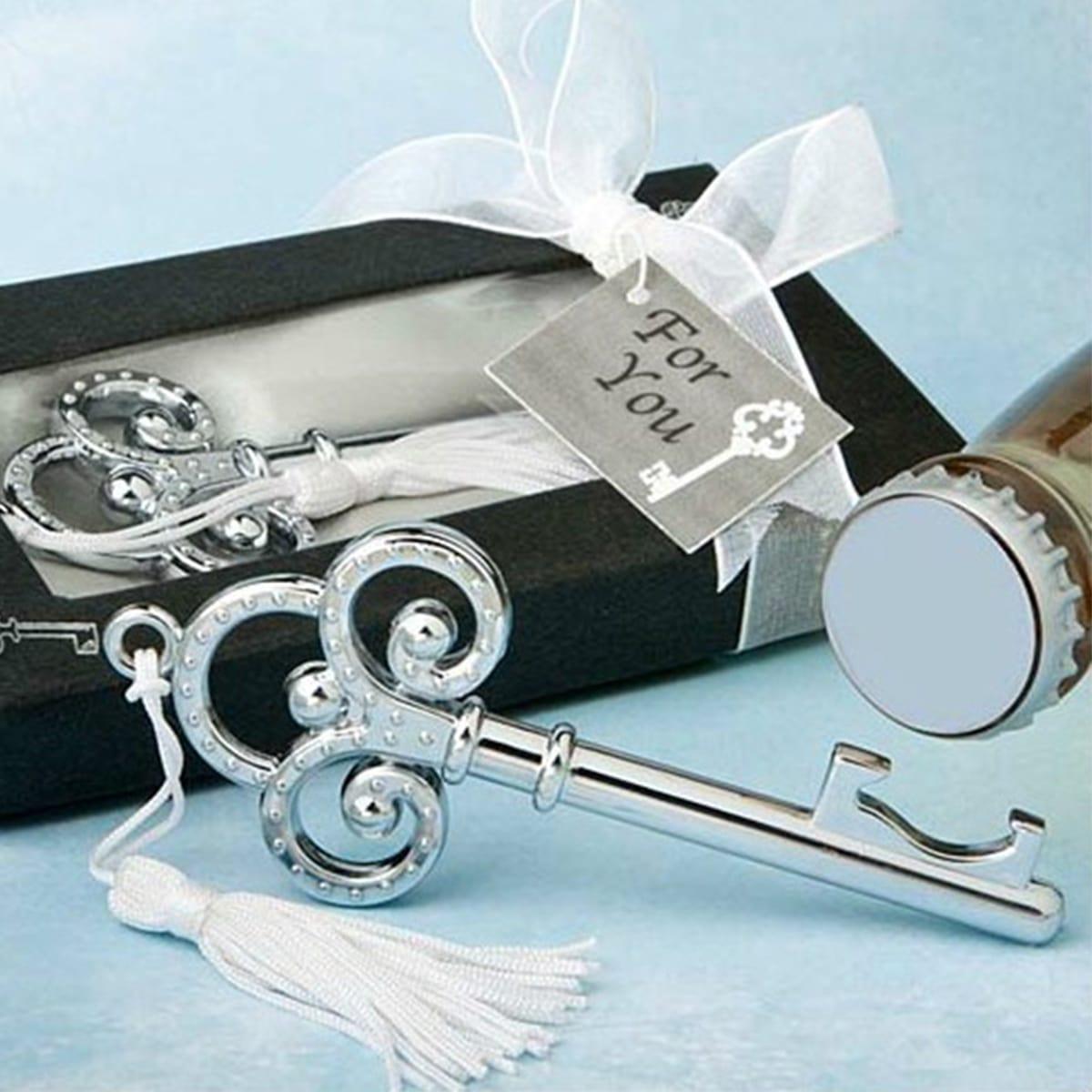 1 Stück Flaschenöffner mit Schlüssel Design