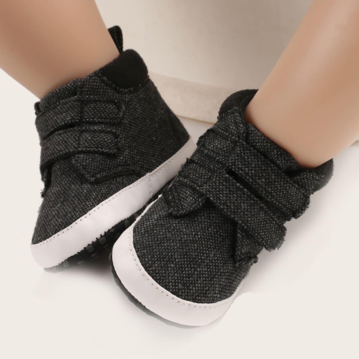 Минималистские кроссовки на липучке для мальчиков