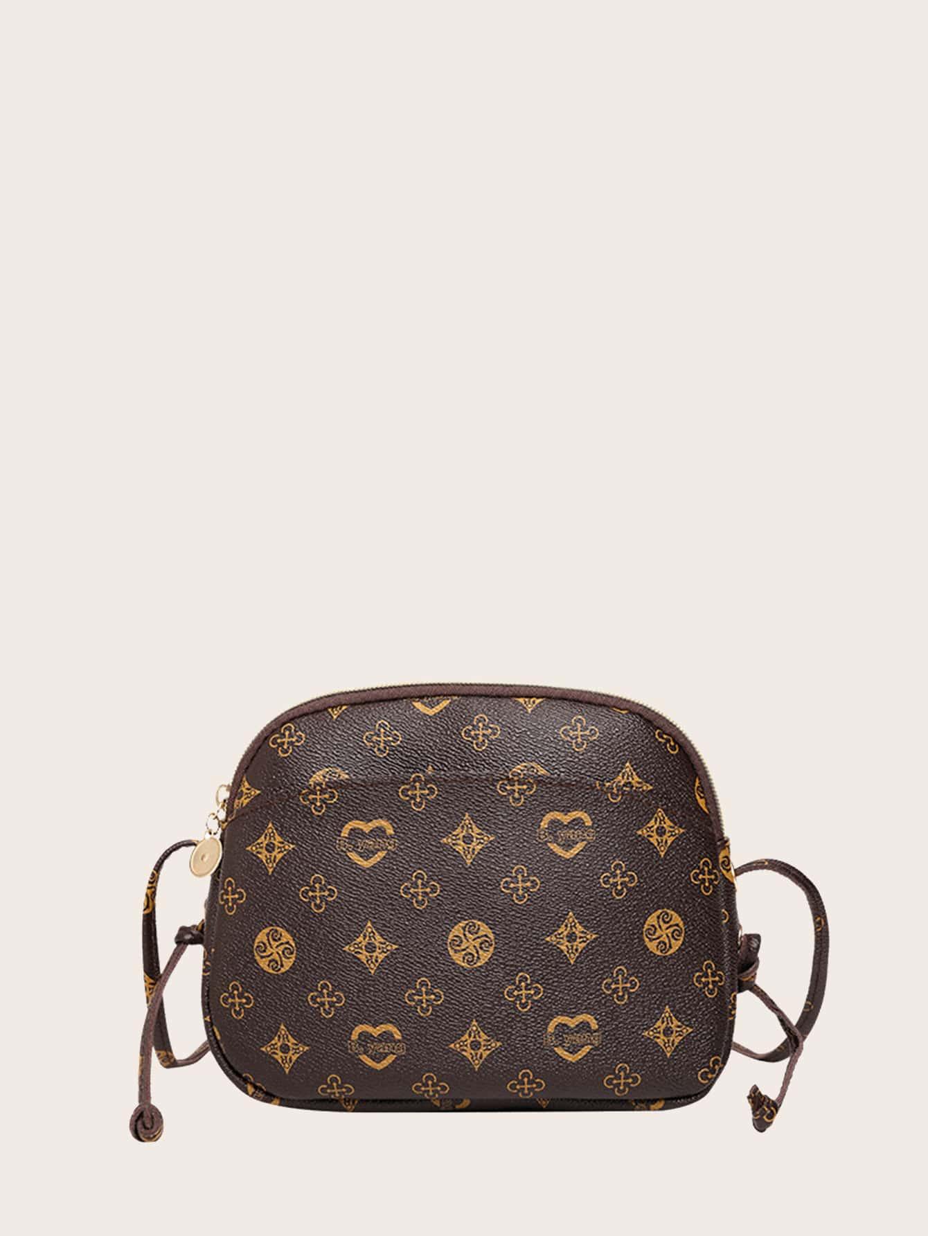 girls graphic crossbody bag