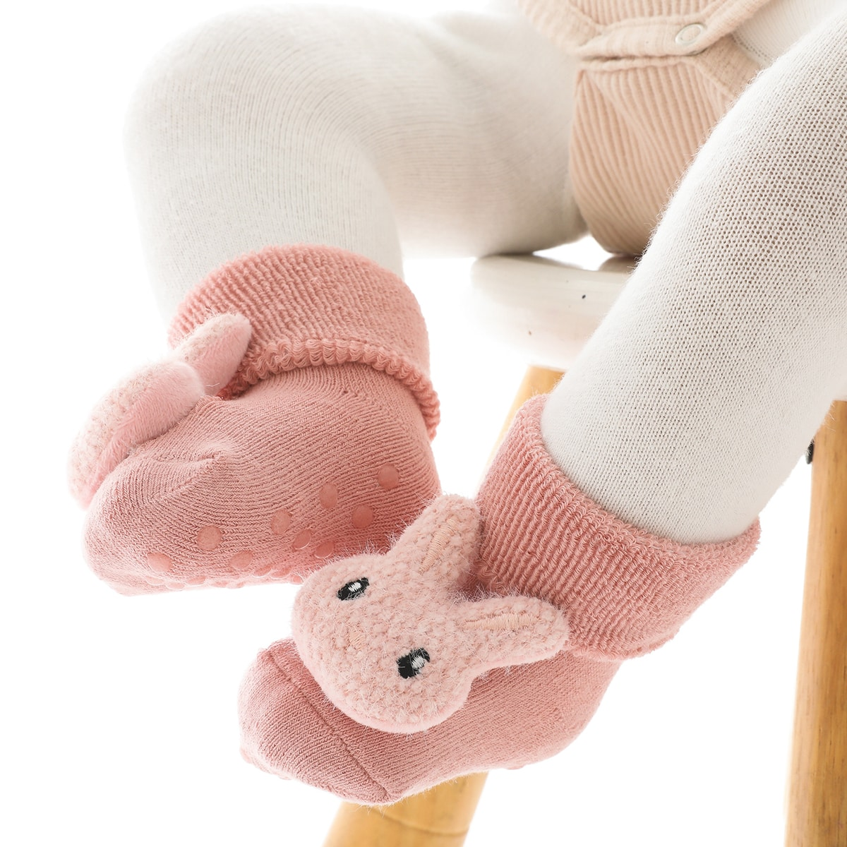 Детские нескользящие носки в пол