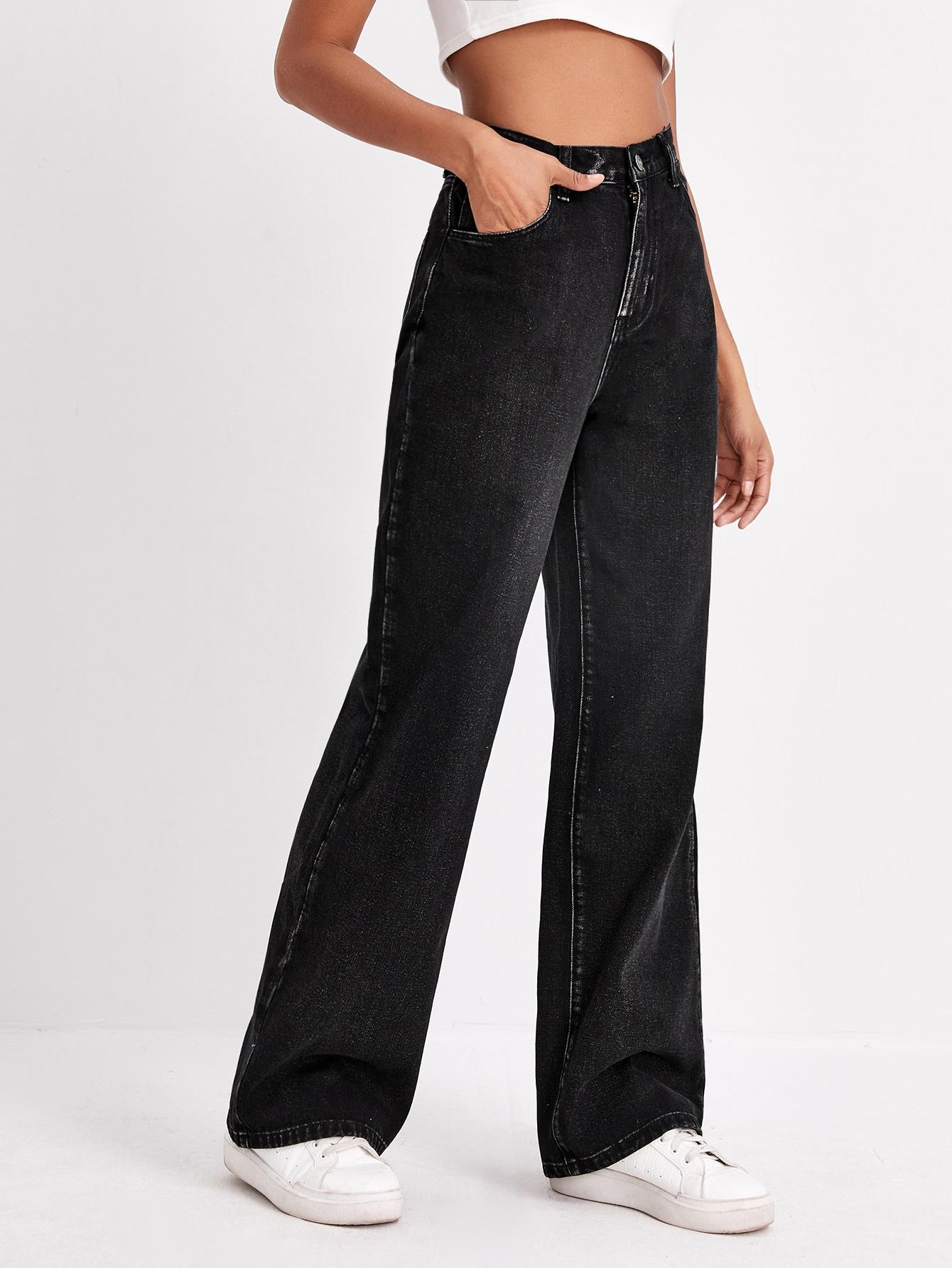 High Waist Wide Leg Jeans thumbnail