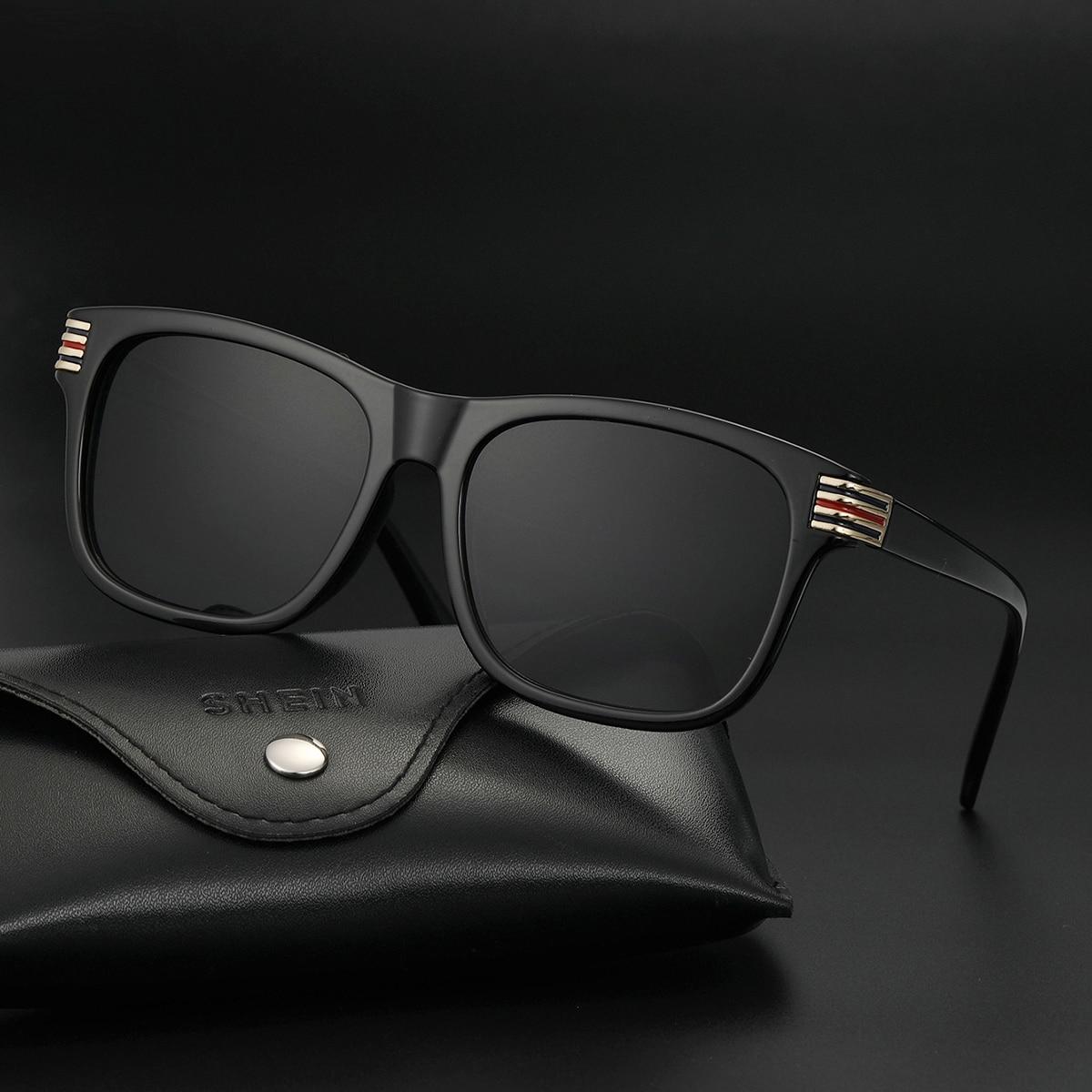 Men Square Frame Glasses