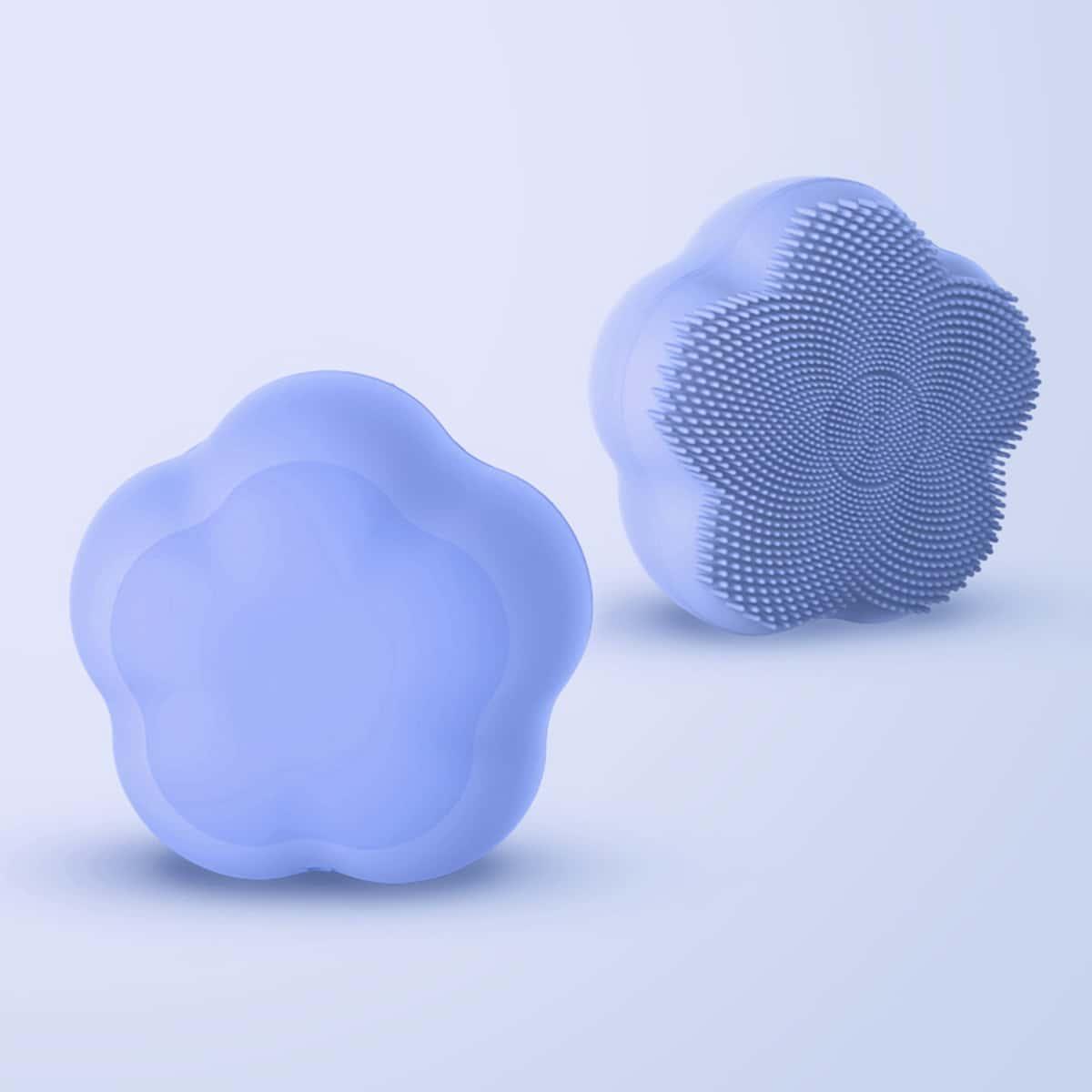 Электронная очищающая щетка для лица в форме лепестка