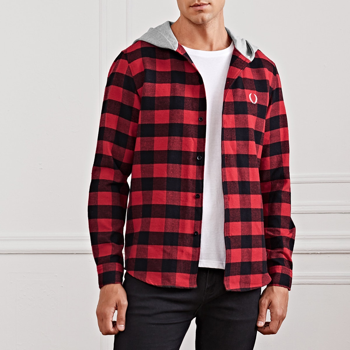 Пуговица этнический институтский мужские рубашки
