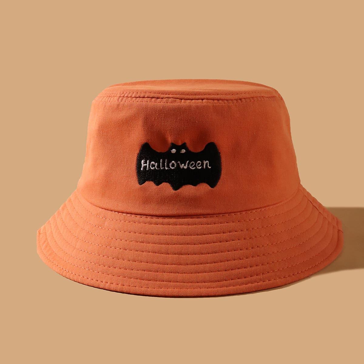 Шляпа с вышивкой на Хэллоуин