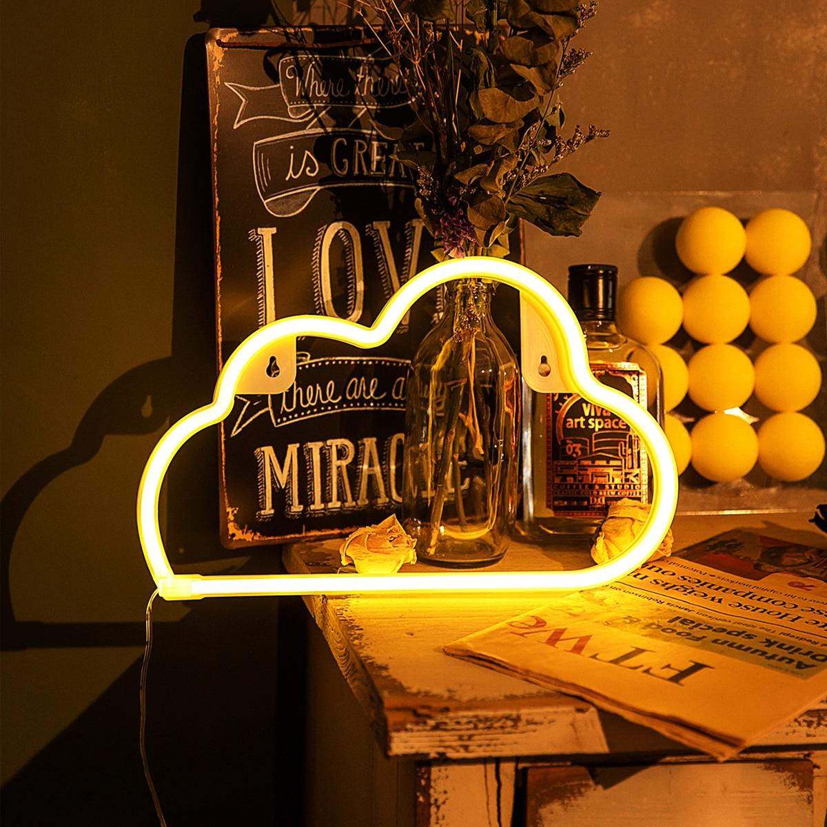 Настенный светильник в форме облака 1шт