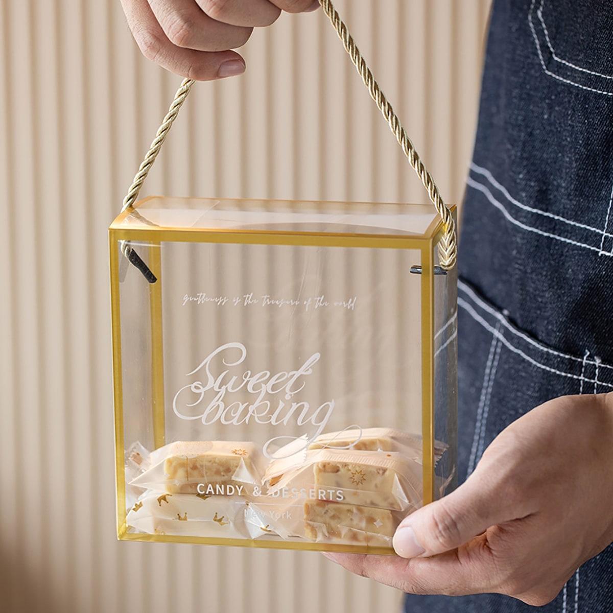 Прозрачная упаковочная коробка 5шт