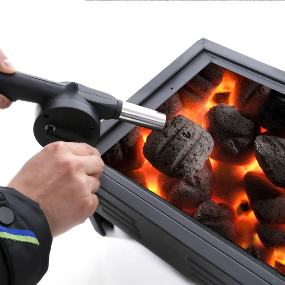Ручной вентилятор для барбекю 1шт