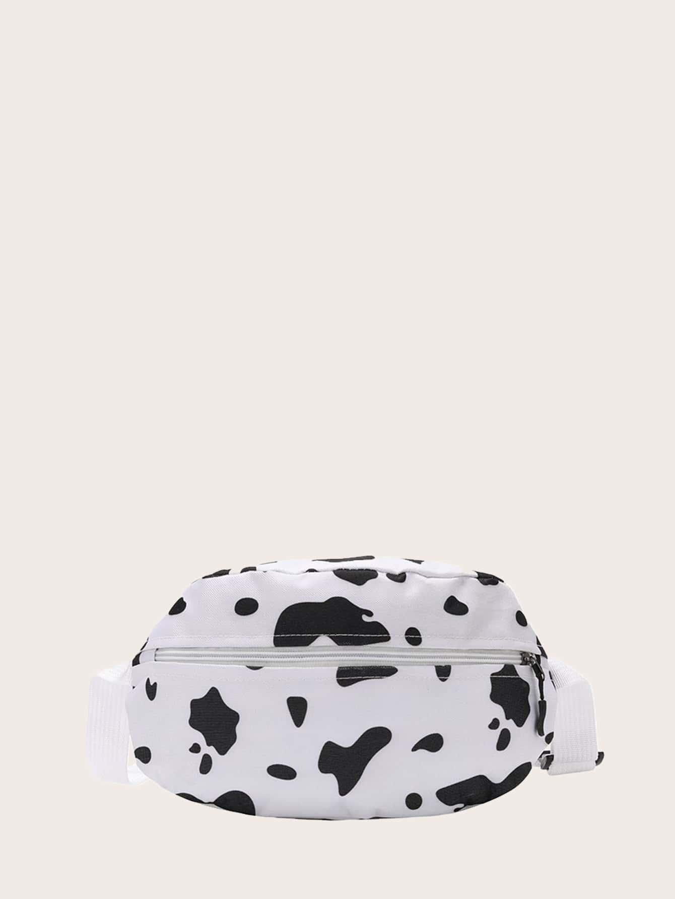 Cow Print Fanny Pack thumbnail
