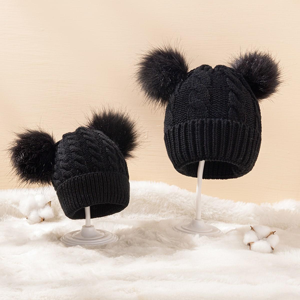 2шт шапка-бини для родителей-детей