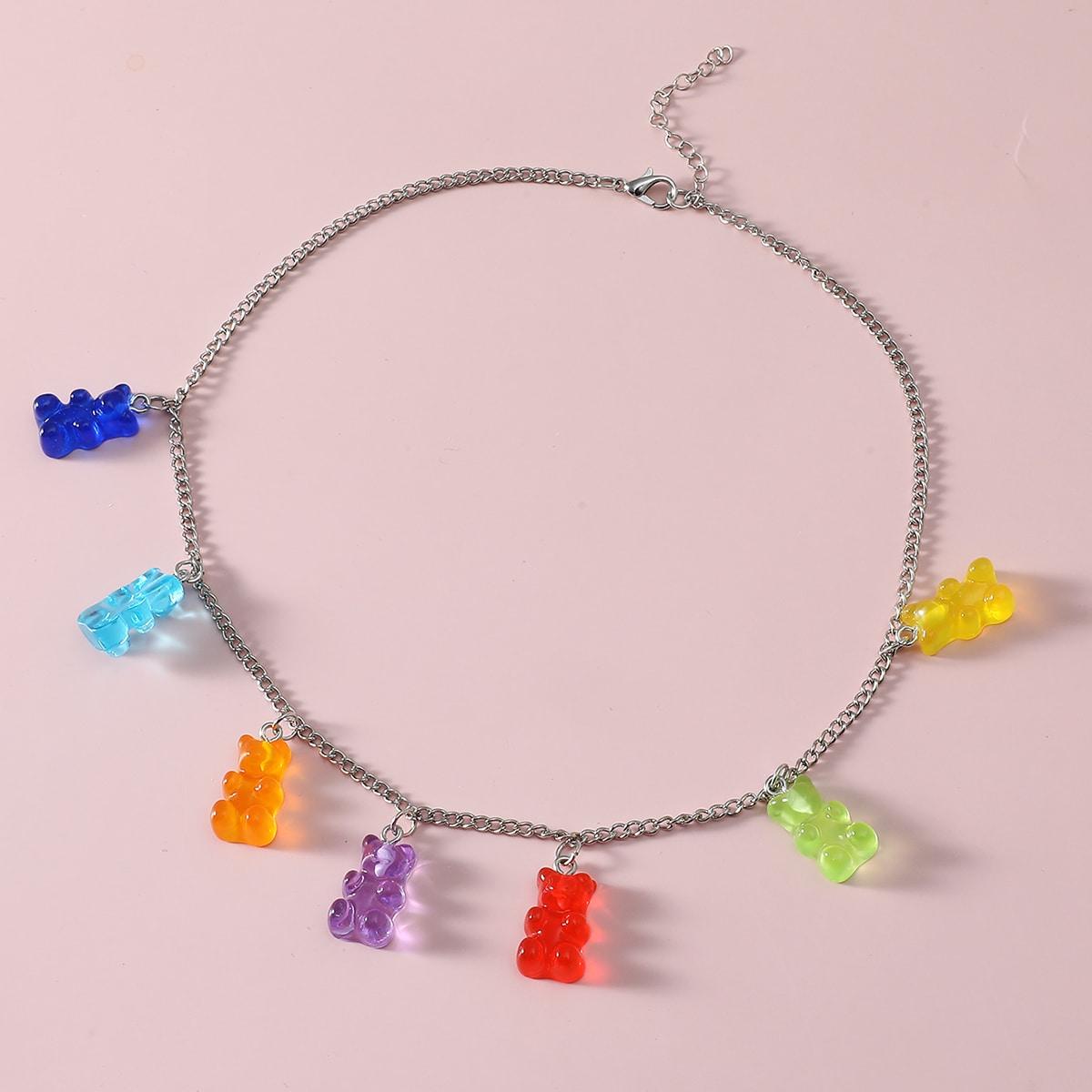 Ожерелье с медведями