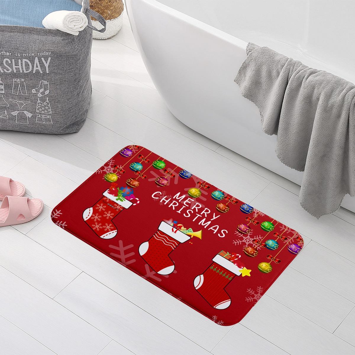 Weihnachten Bodenmatte mit Buchstaben Grafik