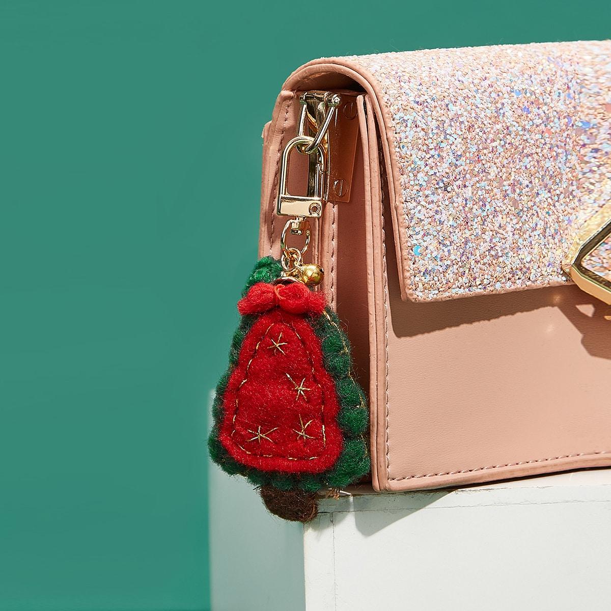 Подвеска для сумки в форме рождественской елки