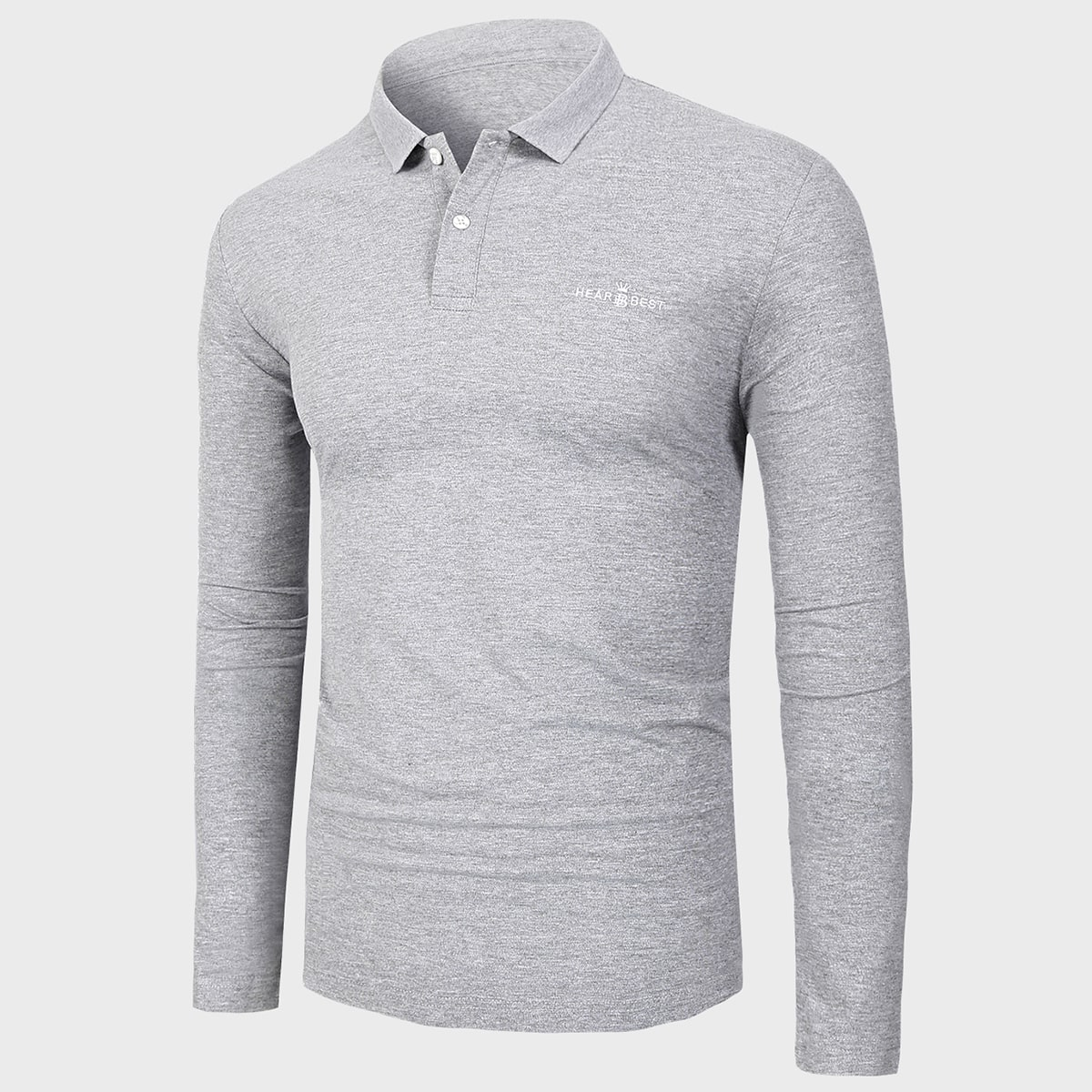 Вышивка буква повседневный мужская рубашка-поло