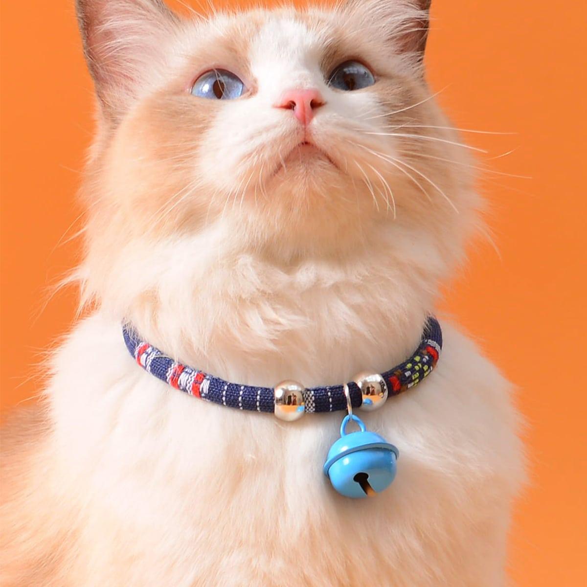 Ожерелье для кошек с бубенчиком