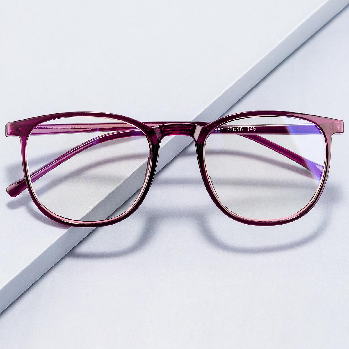 Защитные очки от синего света в квадратной оправе