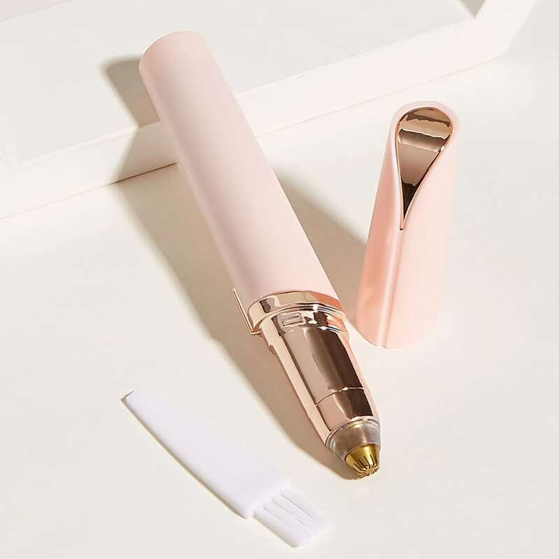 Electric Eyebrow Trimmer, Pink