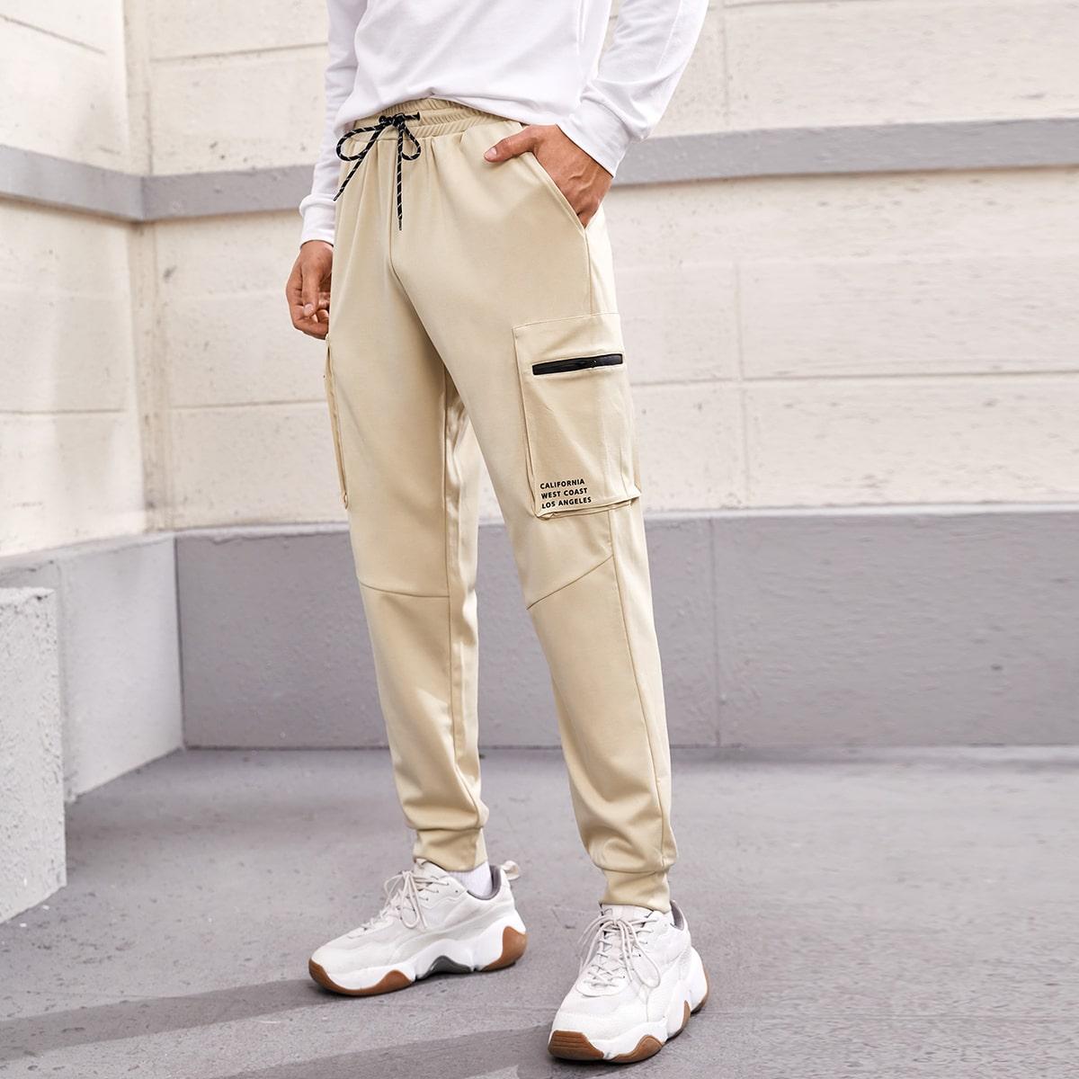 Карман буква улица мужские брюки