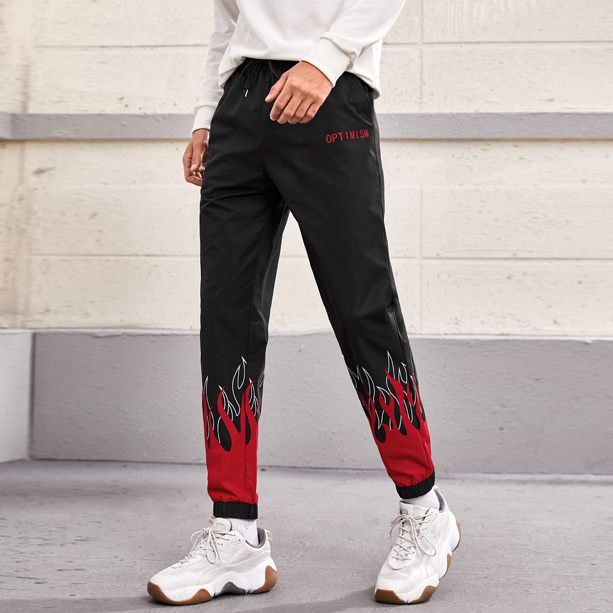 Карман буква спортивный мужские брюки