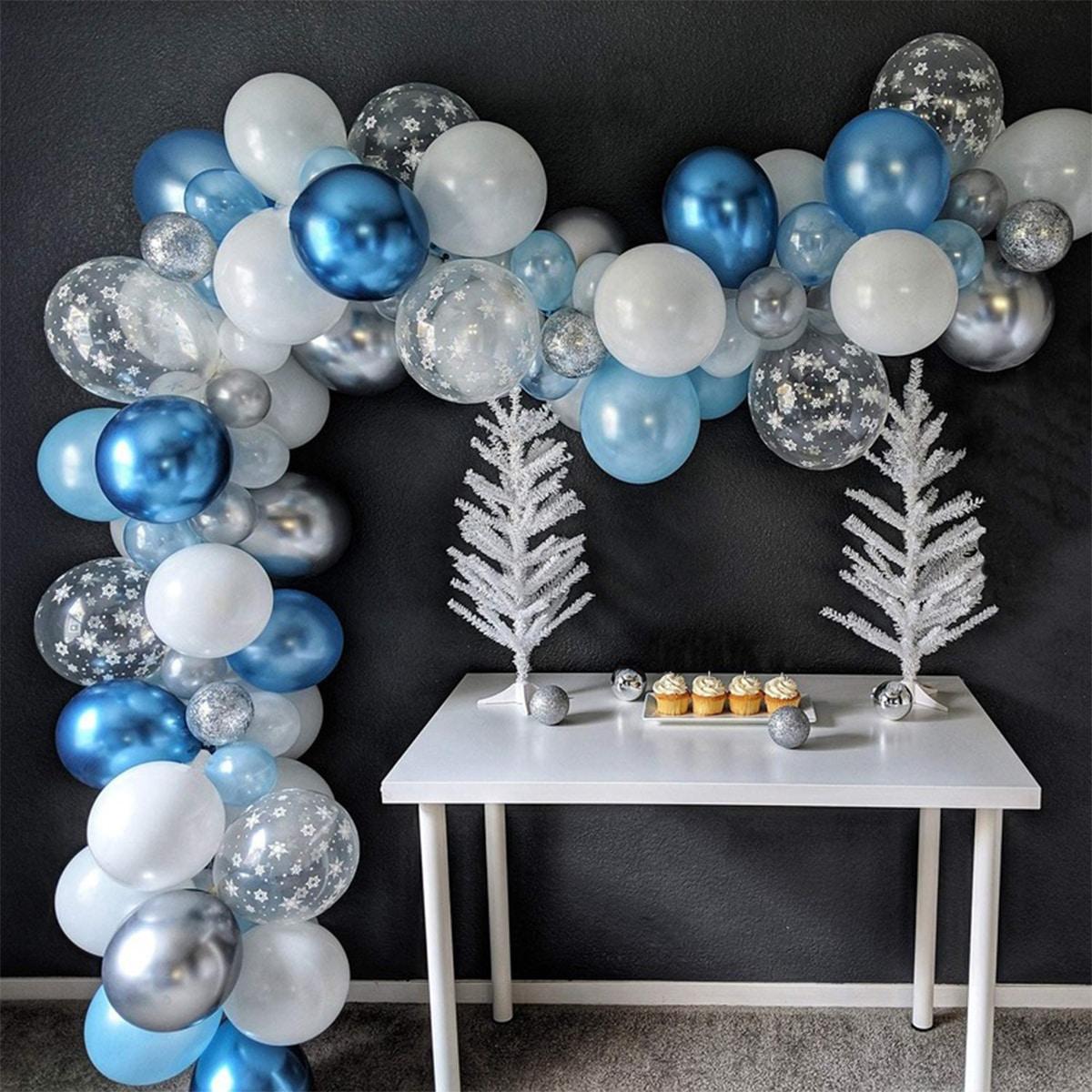 Набор декоративных воздушных шаров 82шт