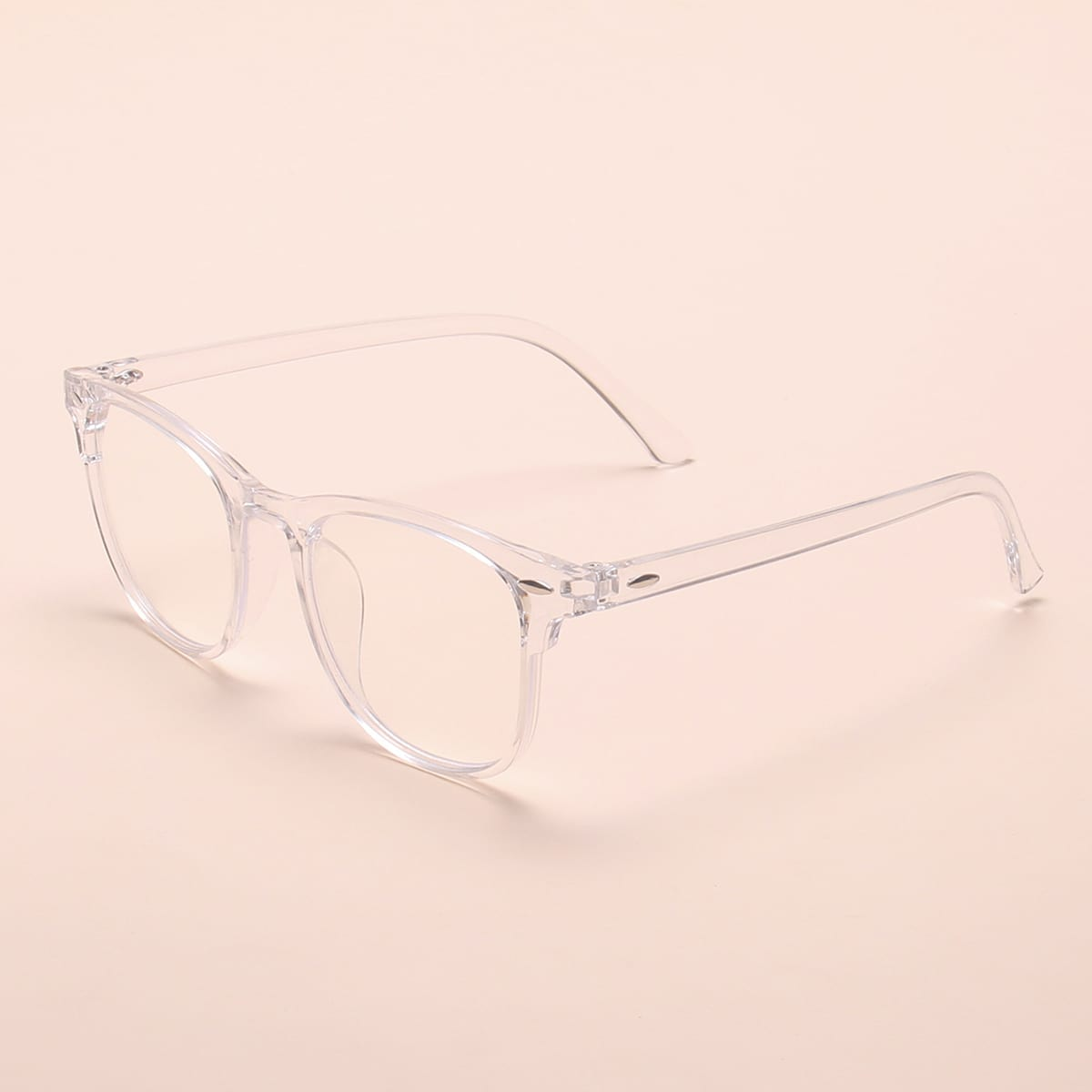 Анти-синие световые очки в прозрачной оправой