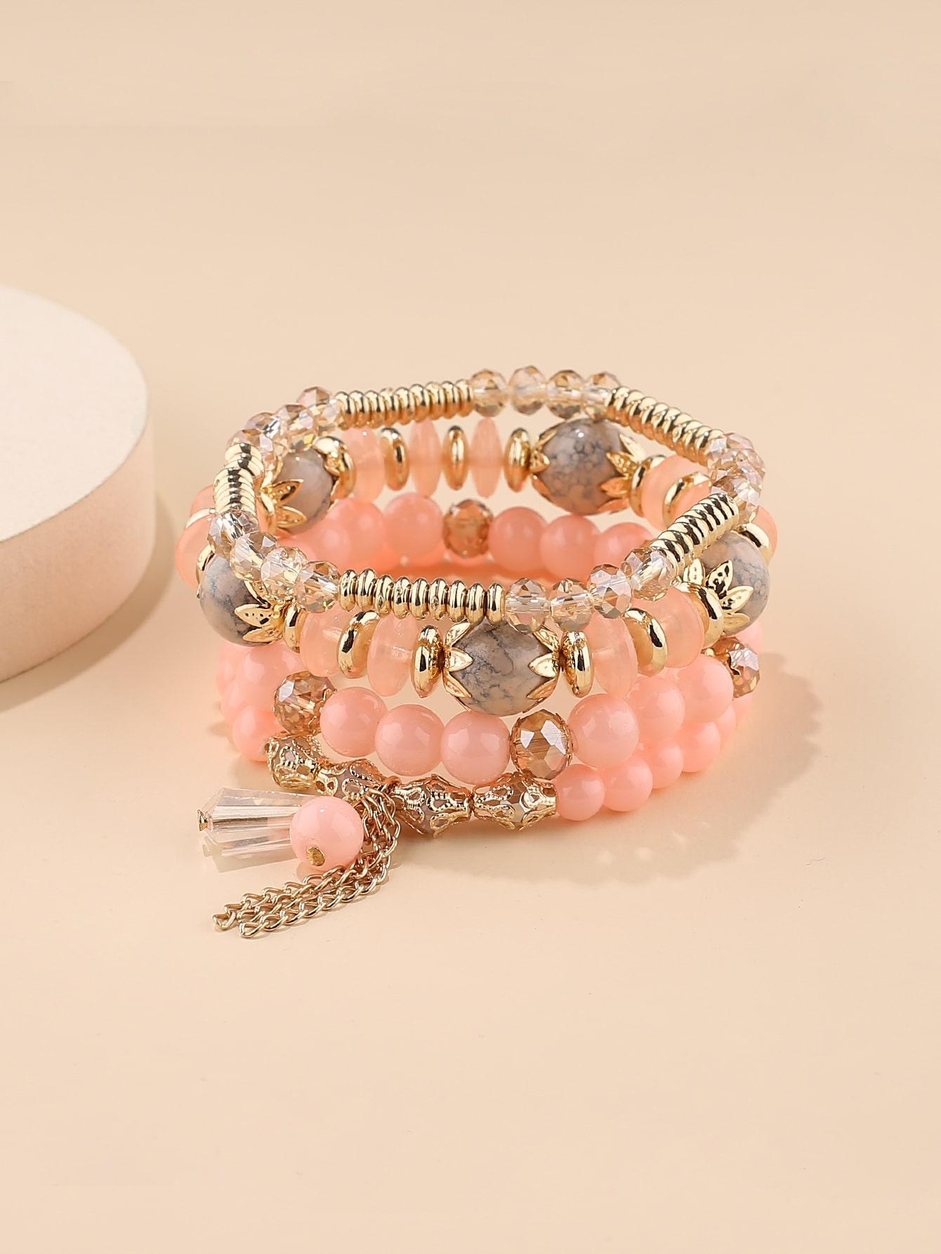 4pcs Beaded Bracelet thumbnail