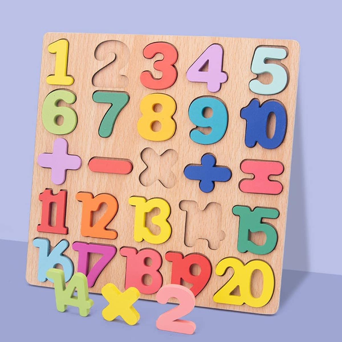 Детская обучающая игрушка по математике
