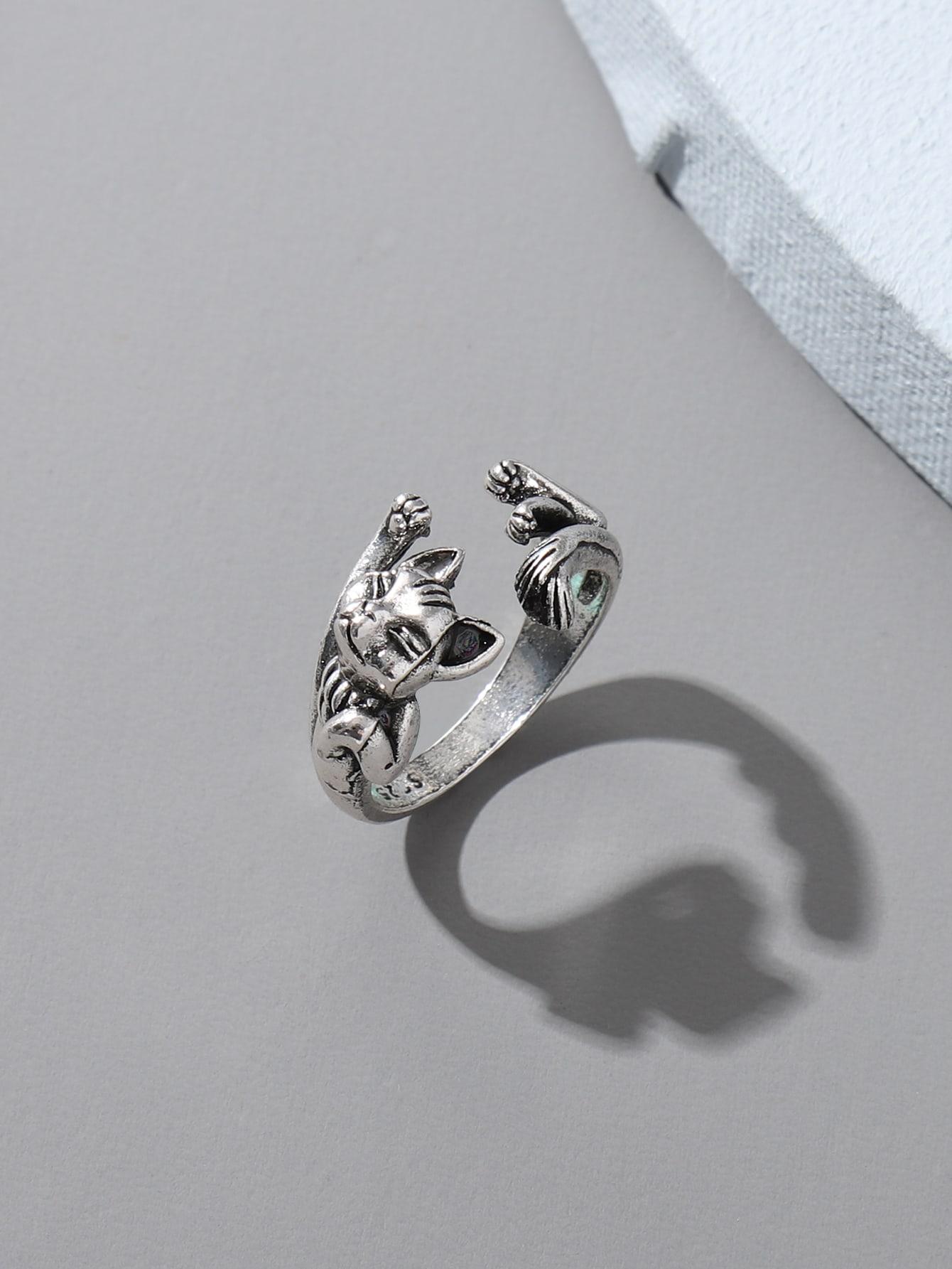 Cat Design Ring thumbnail