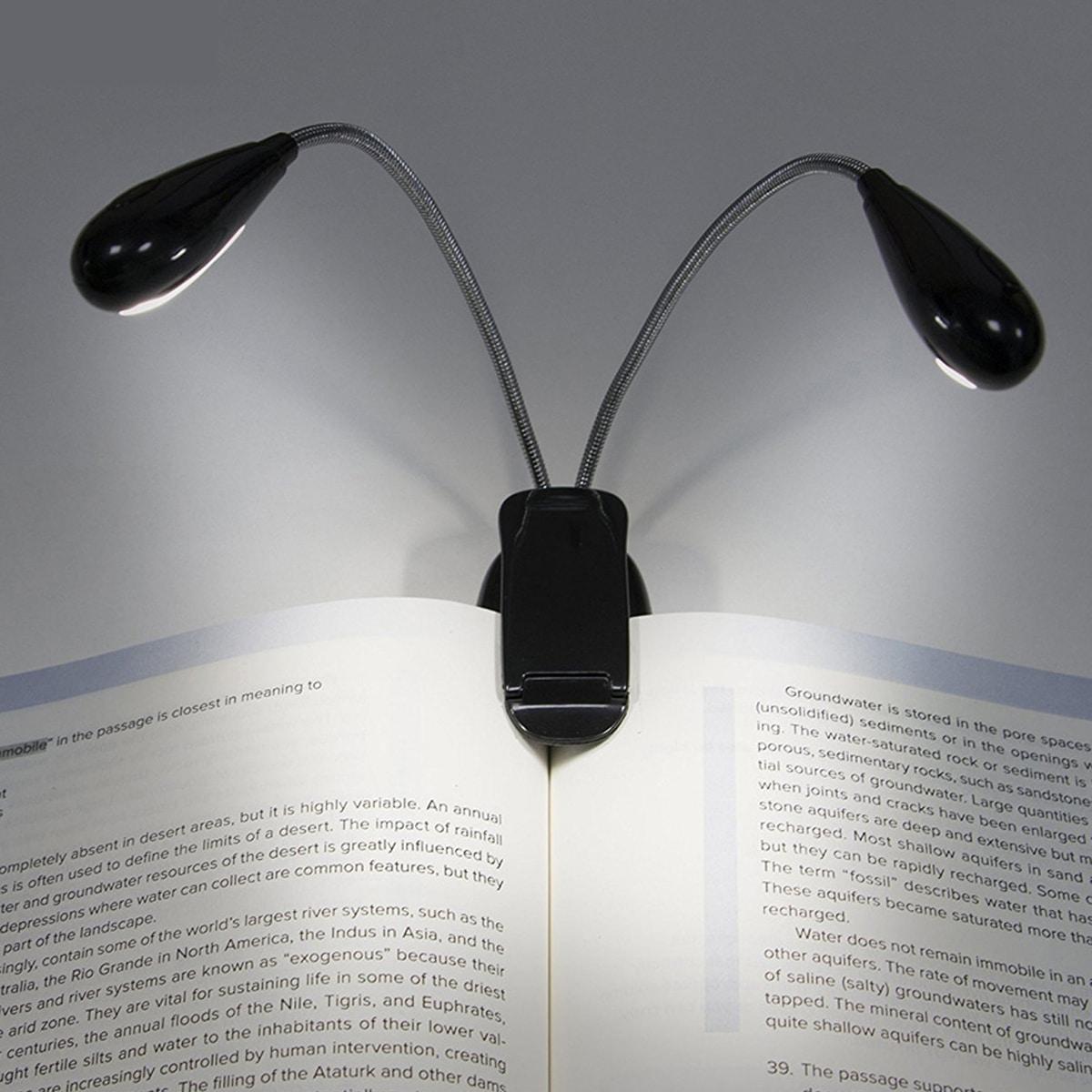 Tischlampe mit Klammer