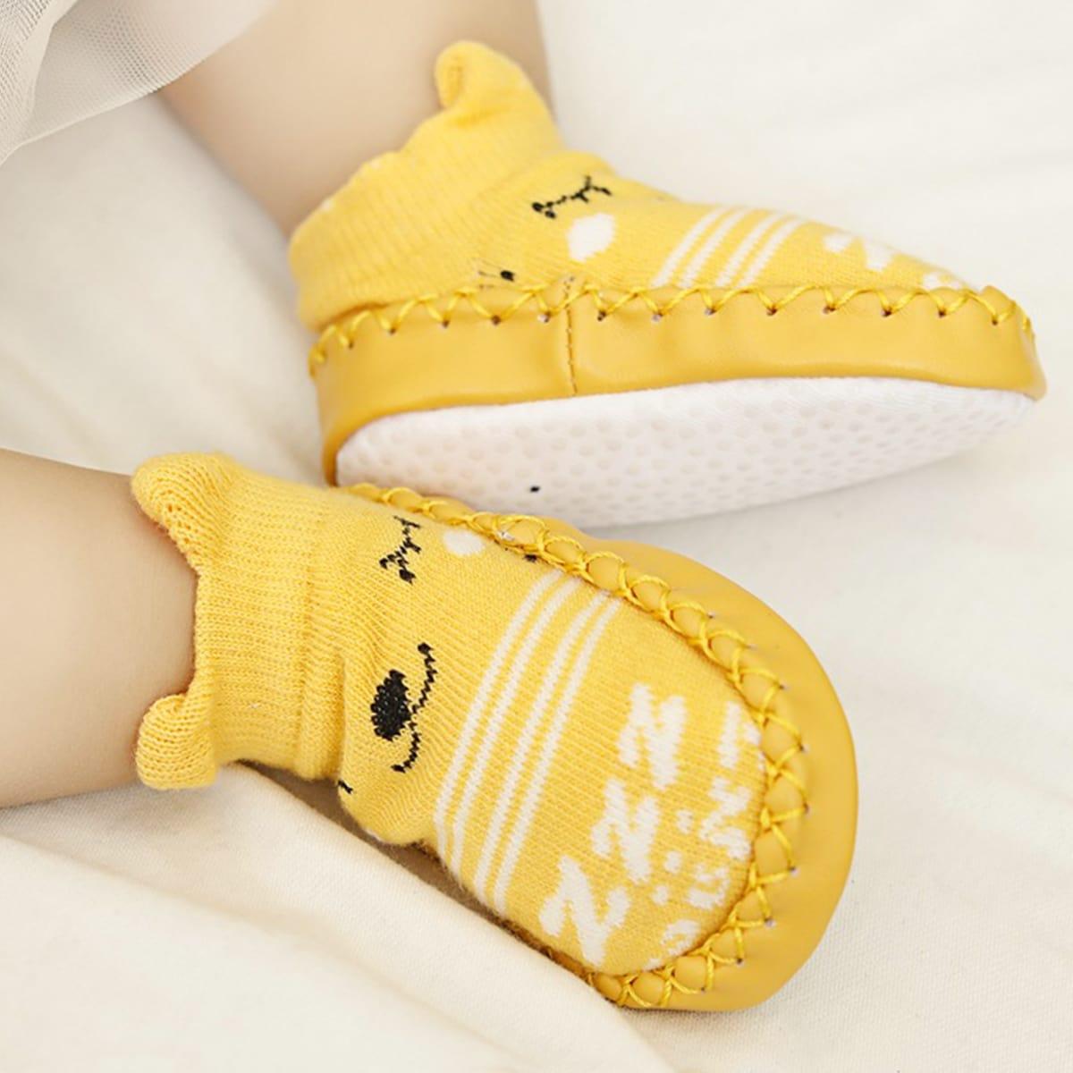 Мультяшный принт Повседневный Детские носки
