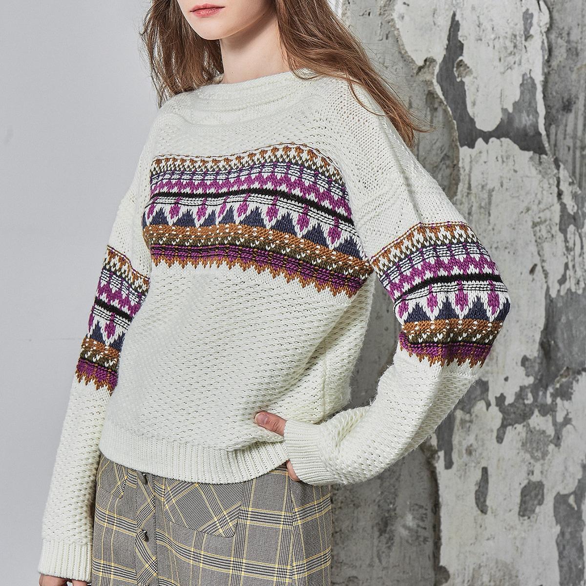 Акриловый свитер
