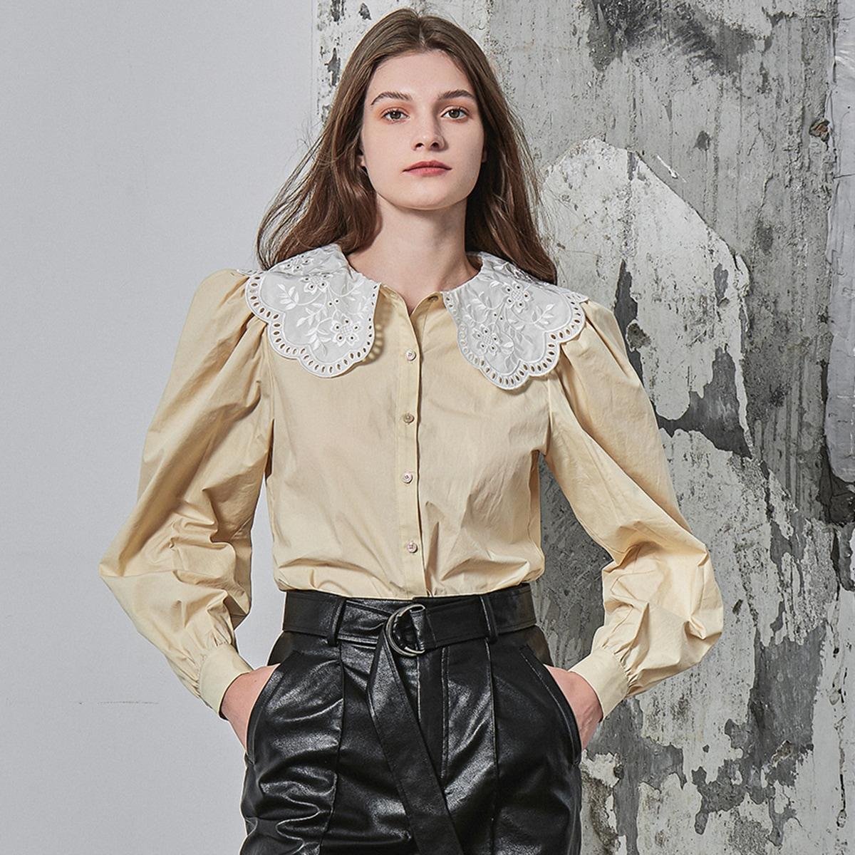 Оригинальная блузка из хлопка