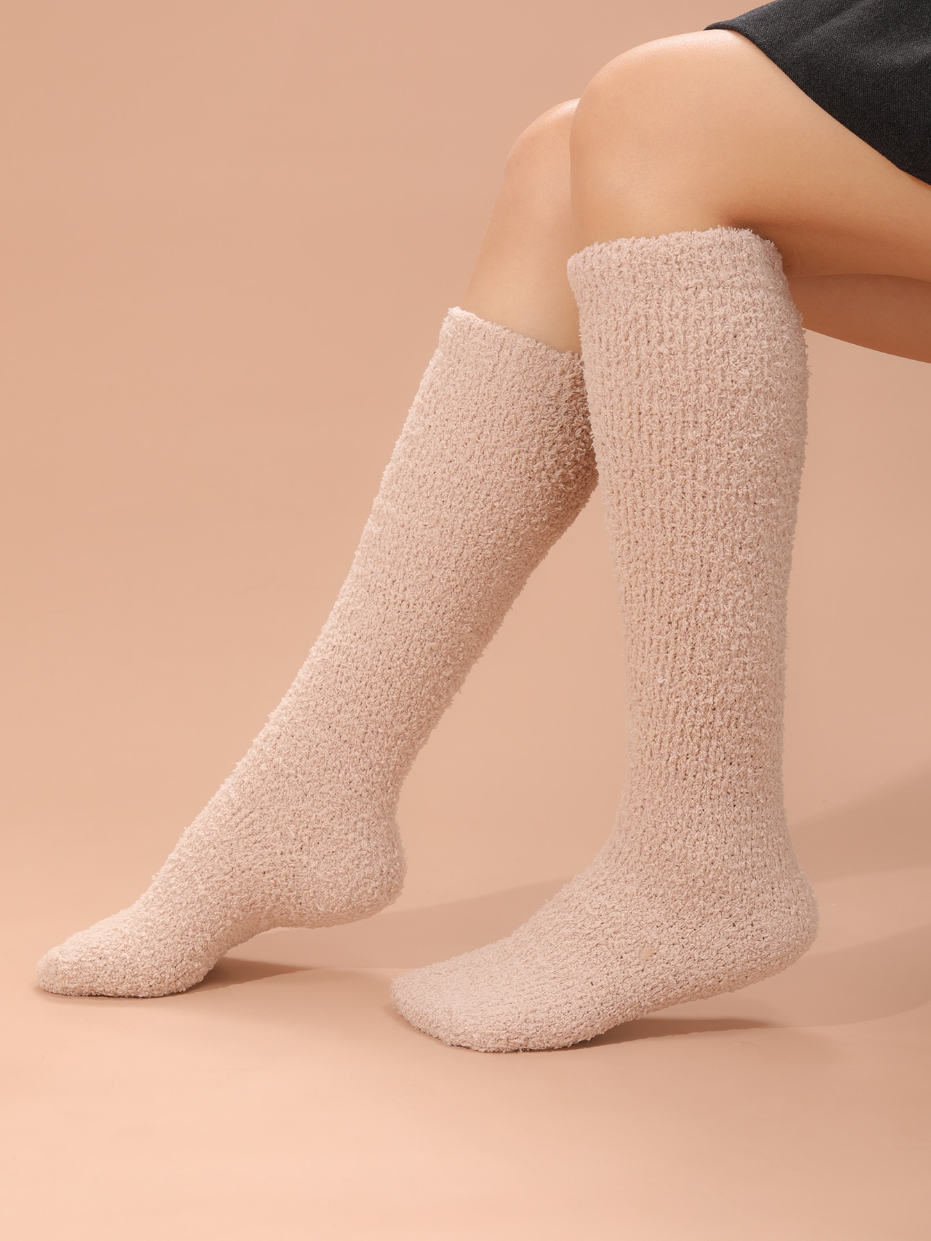 Solid Over The Calf Socks thumbnail