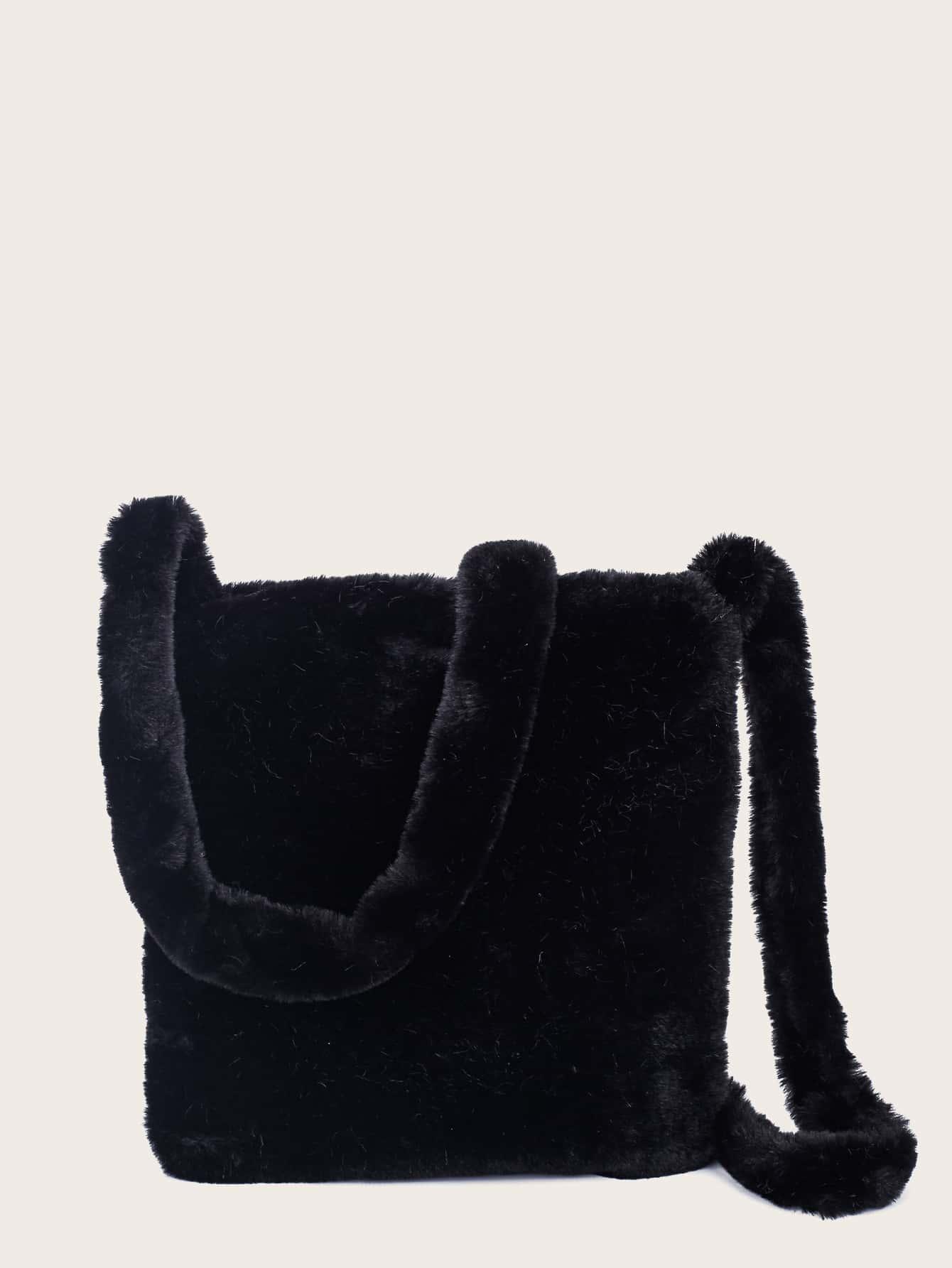 Minimalist Fluffy Crossbody Bag thumbnail