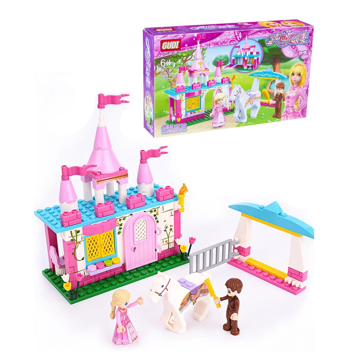 Детские кубики в форме замка 149шт
