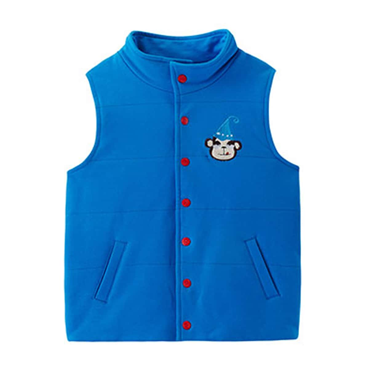 Пуговица с карикатурой повседневный куртки для мальчиков