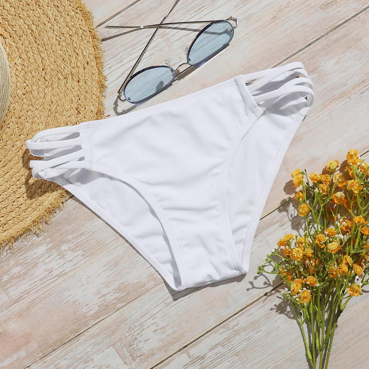 Crisscross Side Bikini Panty