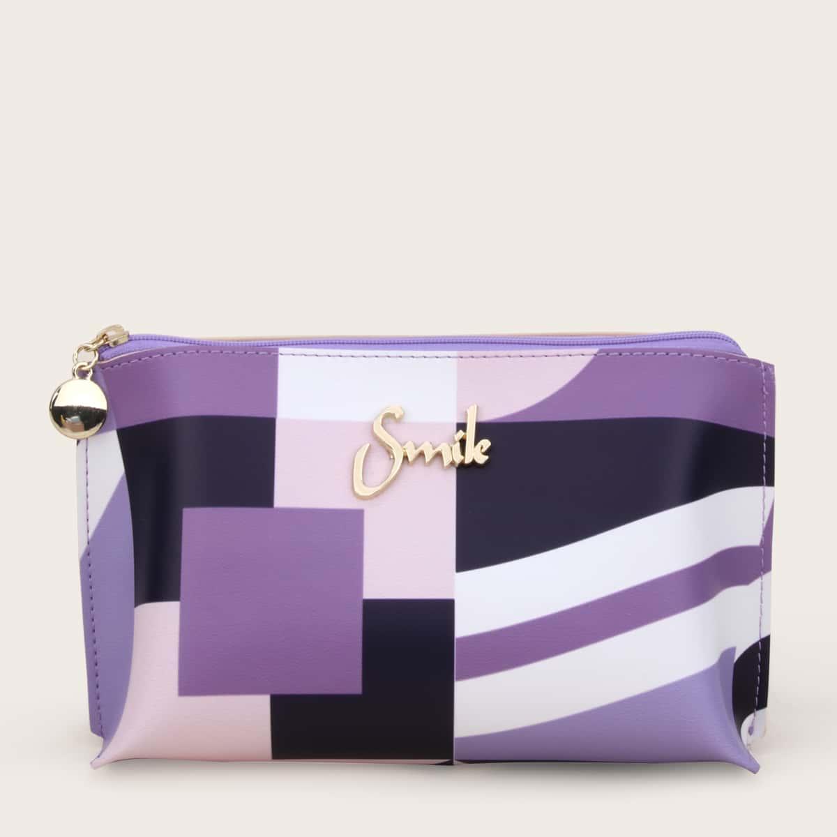 Косметическая сумка с принтом