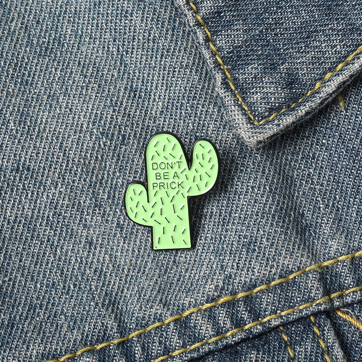 Brosche mit Kaktus Design