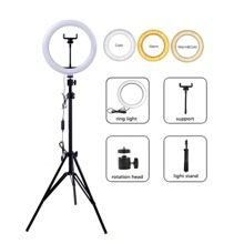 1pc Ring Fill Light With Tripod Stand