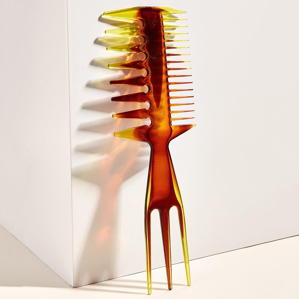 1шт мужская расческа для краски волос