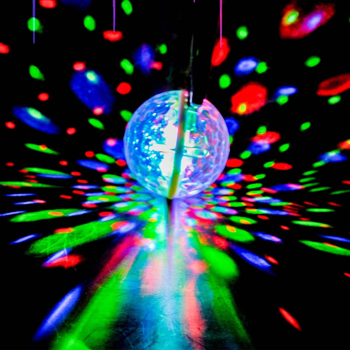 1 Stück Disko-Musik LED-Licht