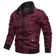 Guys Flap Pocket Zip Detail Jacket