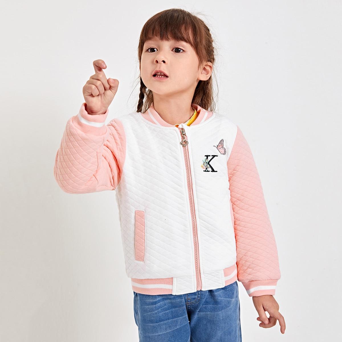 На молнии животный институтский куртки для девочек