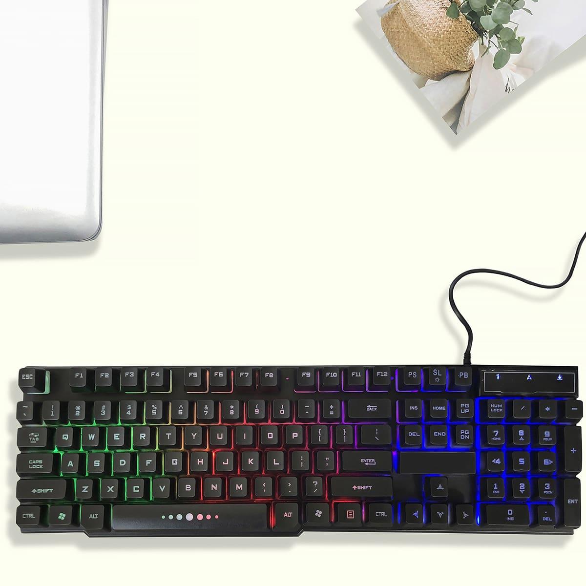 Kabelgebundene Spieletastatur